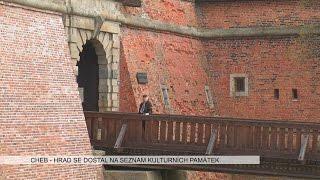 Cheb: Hrad se dostal na seznam národních památek (TV Západ)