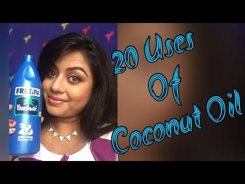 20 Uses of coconut oil | FACE, BODY & HAIR | Tip guru 7