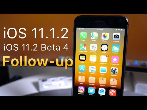 Thumbnail: iOS 11.1.2 and iOS 11.2 Beta 4 - Follow-up