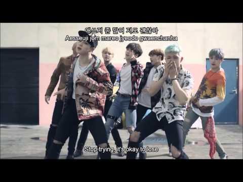 BTS - Fire MV [Hangul + Romanization + English Sub]