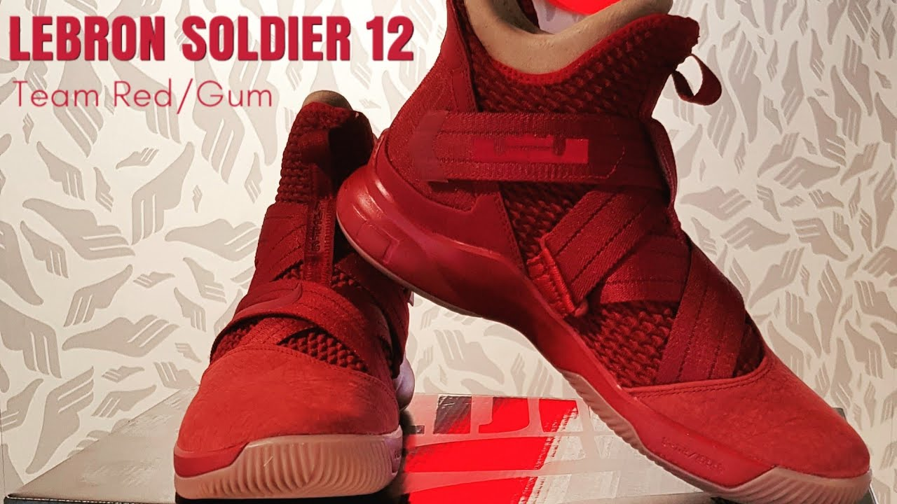 2ec5e1b8f26e7 BOUGHT NIKE LEBRON SOLDIER 12 SFG TEAM RED BECAUSE I FORGOT MY SHOES AT HOME