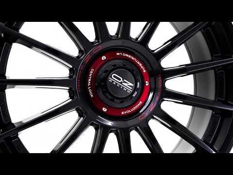 OZ Racing Superturismo Evoluzione | Gloss Black Red Lettering
