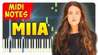 Miia Dynasty Piano Cover Piano Sheets midi.mp3