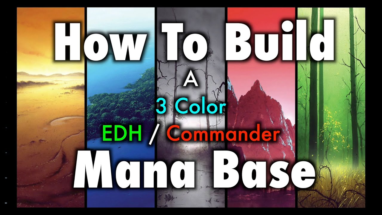 How To Build A  Color Edh