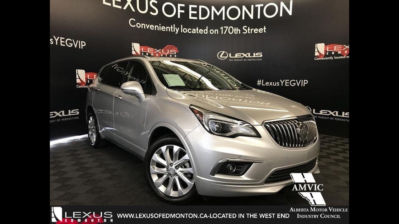 Used Silver 2017 Buick Envision Premium II Walkaround Review Red Deer  Alberta