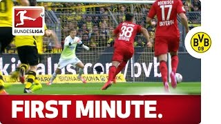 Historic BVB - 4 First-Minute Goals Conceded
