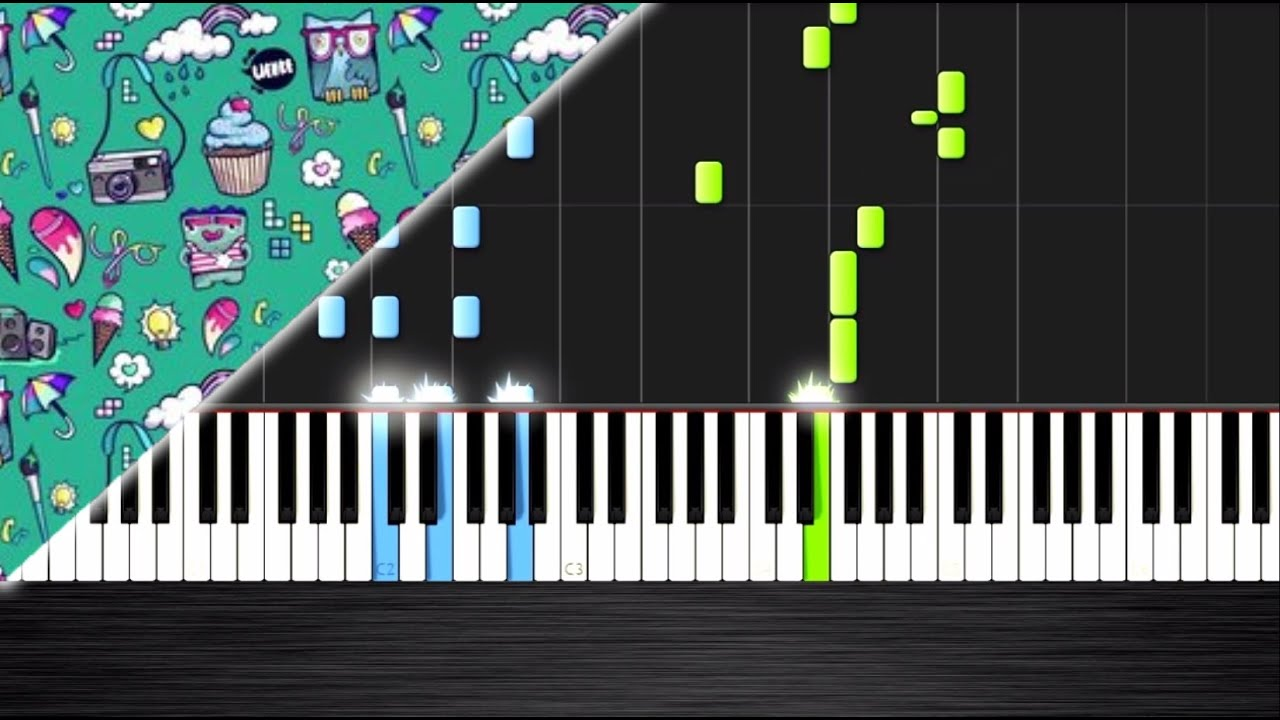 OMFG - I Love You - Piano Cover/Tutorial by PlutaX - Synthesia