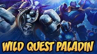 Wild Quest Paladin | Saviors of Uldum | Hearthstone