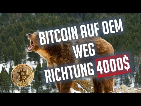 Bitcoin auf dem Weg Richtung 4000$