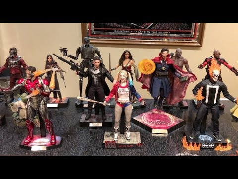 EPISODE 202 - MY TOP 10 FAVORITE HOT TOYS FIGURES OF 2017! CINCY AWARDS!