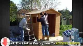 Useful Info On How To Build A Shed From Scratch Yourself