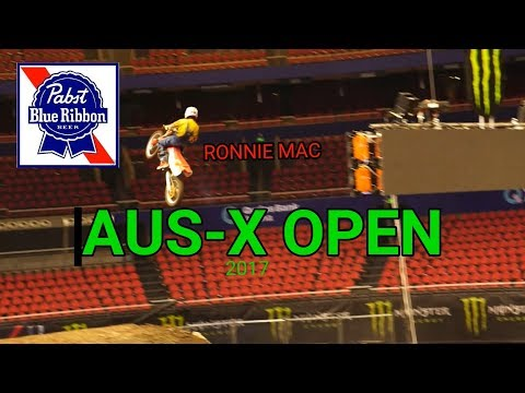 RONNIE MAC takes over AUS-X OPEN