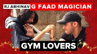 G FAAD Magician | Gym Lovers | RJ Abhinav | Radio Mirchi thumbnail