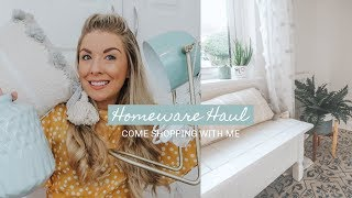 HOMEWARE HAUL | COMING SHOPPING WITH ME | KATE MURNANE ad