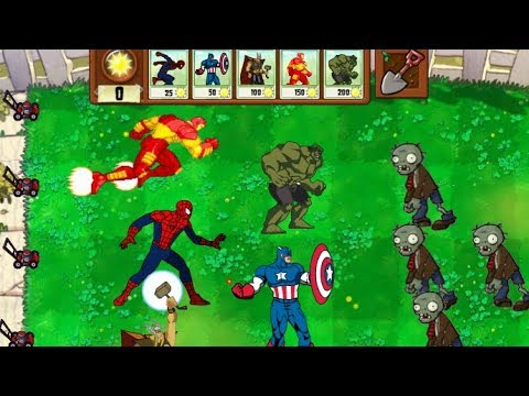 Avengers Vs Plants Vs Zombies(Animation)
