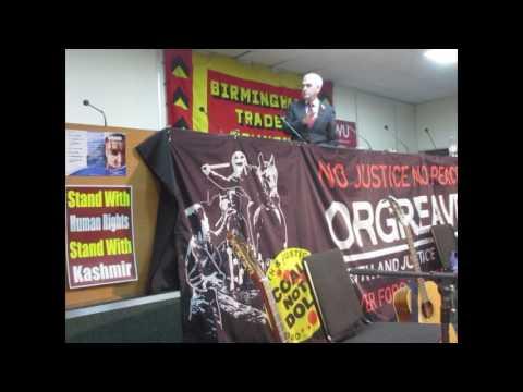 Birmingham Trades Council 150 Anniversary John McDonnell speaking Part 1