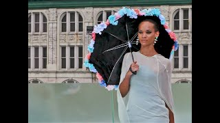 A Beautiful Model at Flying Solo Fashion Show September 2020