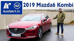 2018 Mazda6 Kombi SKYACTIV-D 184 i-ELOOP Sports-Line  - Kaufberatung, Test, Review