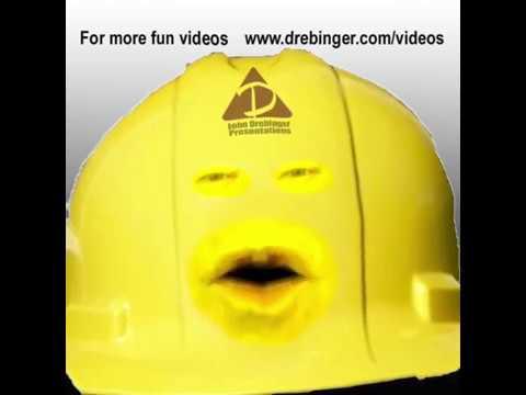 1d8eda38b79 Safety Speaker Hard Hat Harry Famous Last Words - YouTube