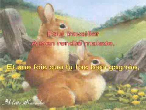 Arlette karaoké-- Petit lapin