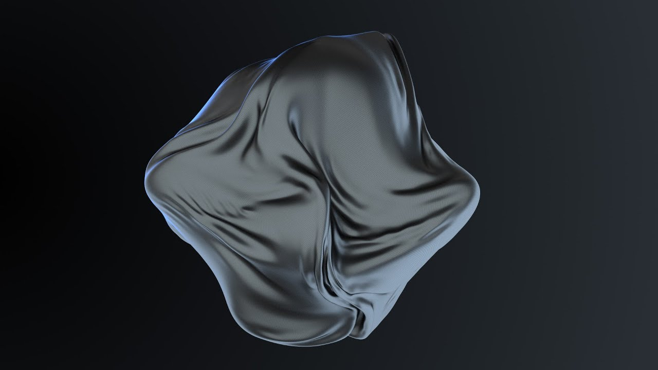 C4D Abstract Cloth Effect - Cinema 4D Tutorial (Free Project)