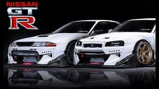 NISSAN SKYLINE FAMILY --- R32 R33 R34 Big Turbo Sounds!!!