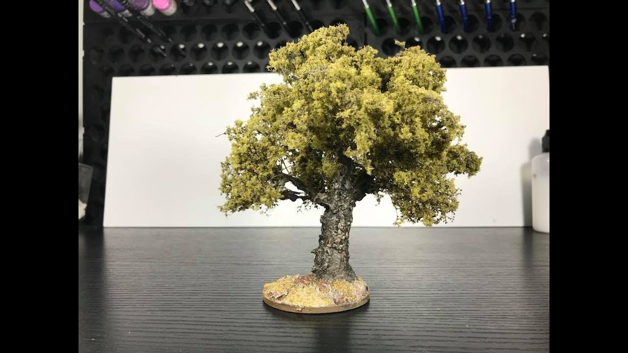 How To Make Wire Trees For Your Layout/Wargaming Table