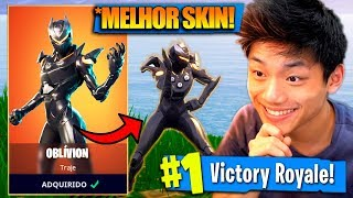 THIS IS THE BEST LEGENDARY SKIN OF THE SEASON-OBLIVION!! Fortnite: Battle Royale