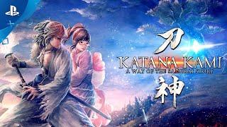 KATANA KAMI: A Way of the Samurai Story - Trailer   PS4