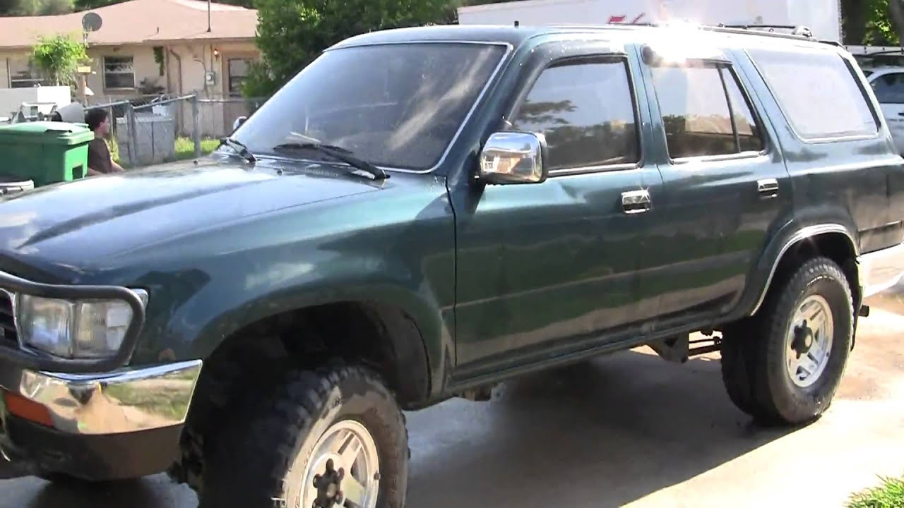 Toyota Four Runner For Sale >> 1995 Limited Toyota 4Runner 4x4 - YouTube