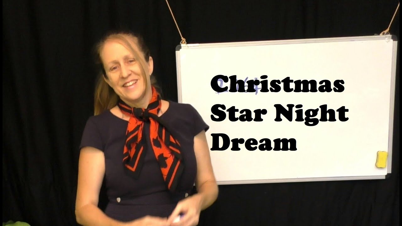 My Christmas Star Night Dream