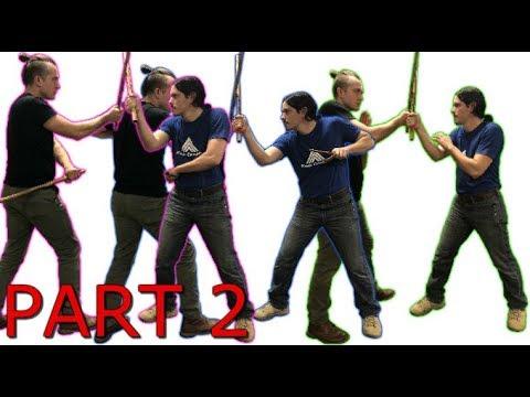 1 Drill 3 Weapons Partner Training - Escrima Arnis PART 2