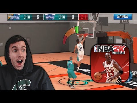 NBA 2K MOBILE MYTEAM SEASON MODE GAMEPLAY!