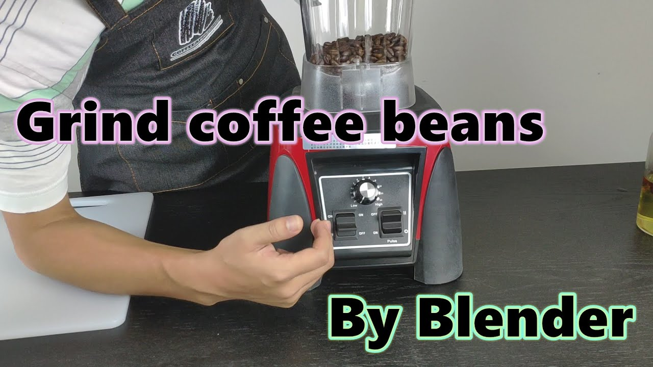 Can a blender grind coffee beans?