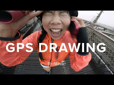 The GPS Drawing Challenge: NYC // Presented by BuzzFeed & T-Mobile