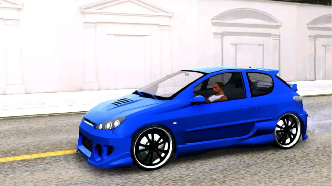 gta san andreas peugeot 206 tuning enromovies youtube. Black Bedroom Furniture Sets. Home Design Ideas