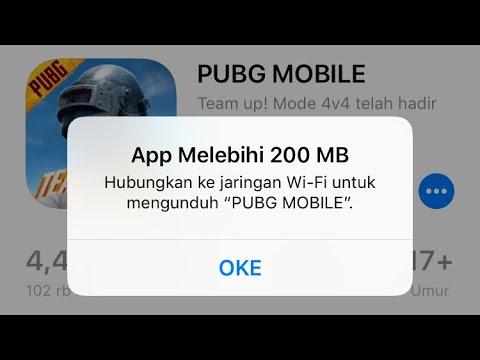 Solusi Download App Melebihi 150 Atau 200 Mb Di Iphone Ios Tanpa WIFI