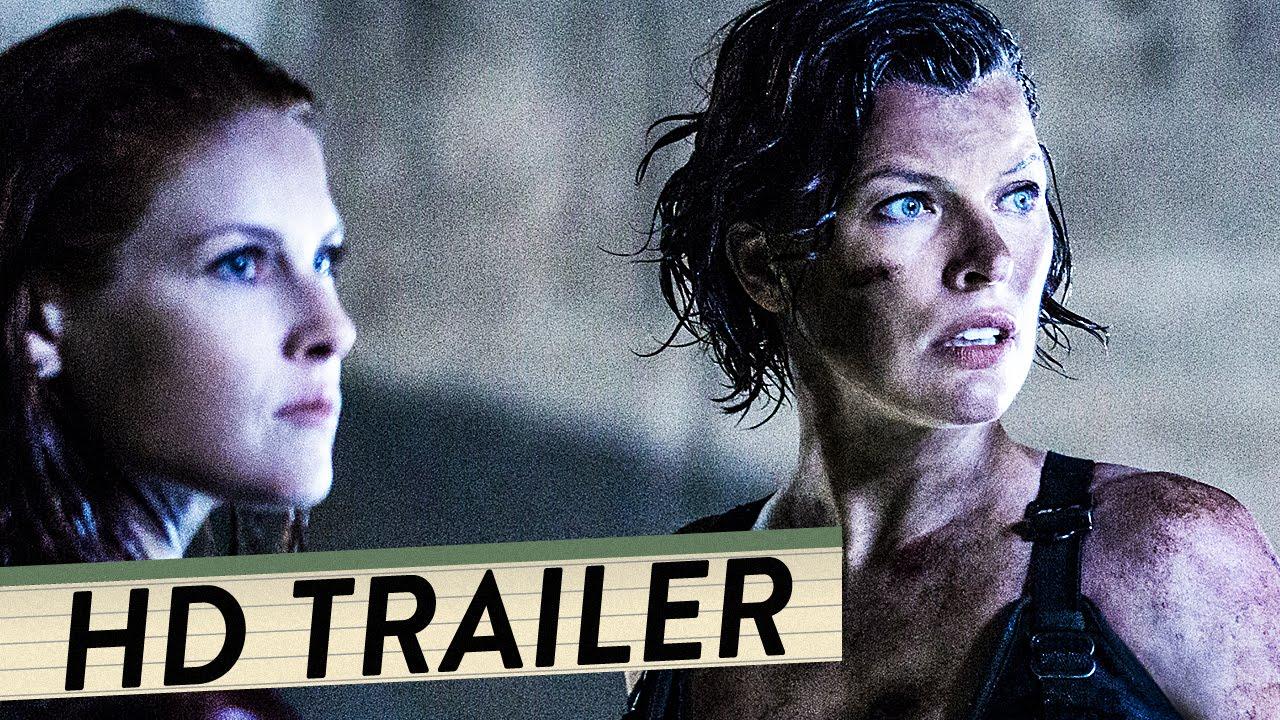 Resident Evil The Final Chapter 24: RESIDENT EVIL 6: THE FINAL CHAPTER Trailer Deutsch German