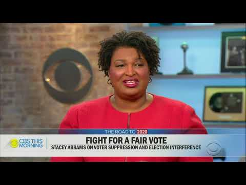 Stacey Abrams says conceding election 'means to say that the process was fair'