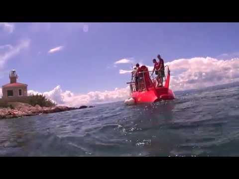 Underwater fun in Adriatic Sea