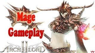 Archlord 2 Mage Gameplay (Staff)