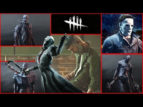 "Dead By Daylight - ""All TRAILERS & KILLERS"" - DEAD BY DAYLIGHT EVOLUTION."