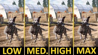 Far Cry 5 | GTX 1050 Ti + i5-7400 | Low vs. Medium vs. High vs. Ultra | 1080p