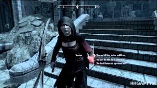 Skyrim Dawnguard - walkthrough part 25 HD gameplay dlc add on expansion - Vampire lord