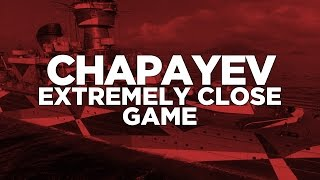 World of Warships - Chapayev Extremely Close Game