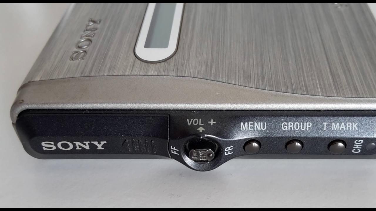 SONY MZ-R30 MINI DISC WALKMAN PORTABLE MINI DISC RECORDER - YouTube