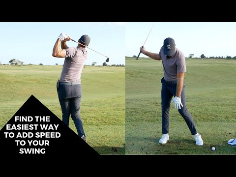 FIND THE EASIEST WAY TO ADD SPEED TO YOUR SWING