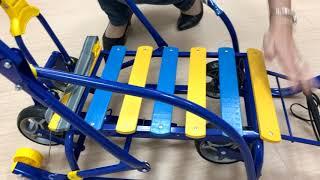 Обзор санок с выкатными колесами Nikki 3