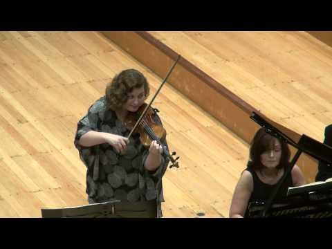 Natalia Prischepenko & Ewa Kupiec, Beethoven Violin Sonata No. 8, 1 mov.