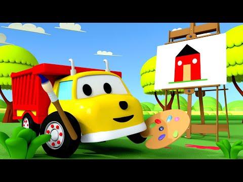 Ucz się Kolorów Ethan maluje domek Bajki Edukacyjne dla Dzieci